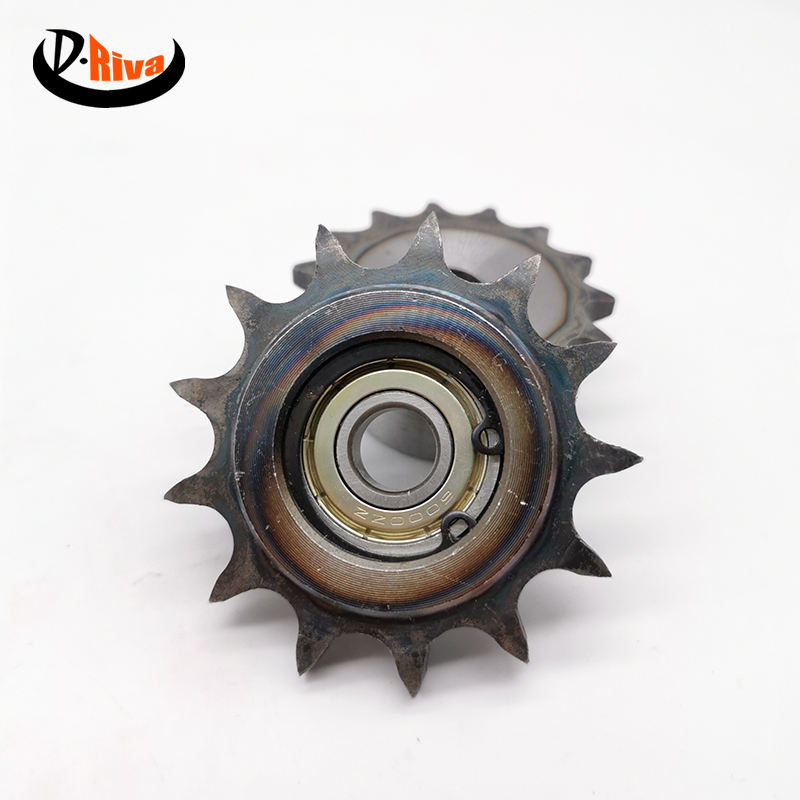 Hardened Teeth Sprocket Roller Chain with steel C45