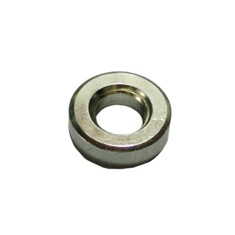 Factory stock galvanized carbon steel hex nut