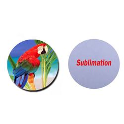 Promotion Gifts Blank Sublimation Design Round Shaped Cork Coaster For DIY