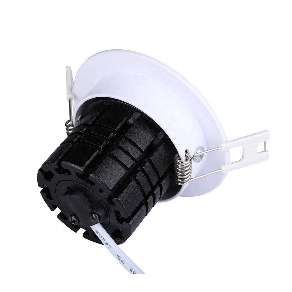 8W Dc24v High Power Led Cob Chip Rgbw Rgb Cct 2700K Downlight 3 Inch Dmx 512 <span class=keywords><strong>Dimbare</strong></span> Of wifi Controller Led Plafond Down Light