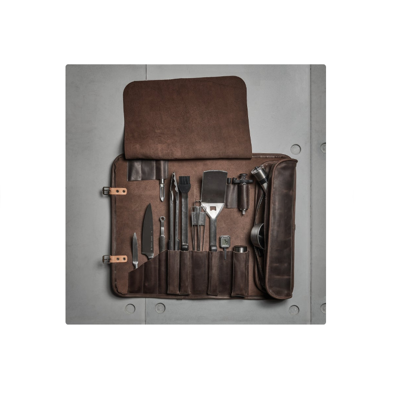 <span class=keywords><strong>Bbq</strong></span> Grill Gereedschap Set Draagbare Outdoor Camping <span class=keywords><strong>Bbq</strong></span> Accessoires Kits Opbergtas