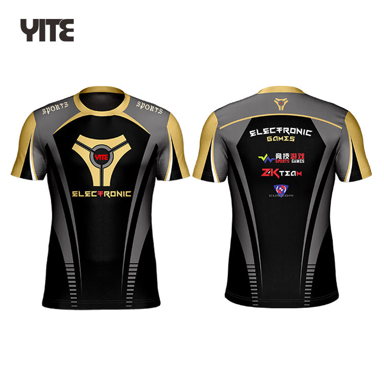 Latest Sublimation Esports Jersey Gaming Jersey/wear/shirt/suits