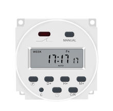 Countdown timer Programmable Time Switch Relay 220VAC Digital LCD Power Timer 16A CN101 FOR Ozone generator