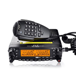 TYT TH-7800 50W Dual Band 136-174/400-480MHz Rádio Amador Móvel HF/VHF/UHF transceptor, walkie Talkie 50km