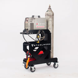 Welding Trolley Cart Shelf For Welding Equipment Machine