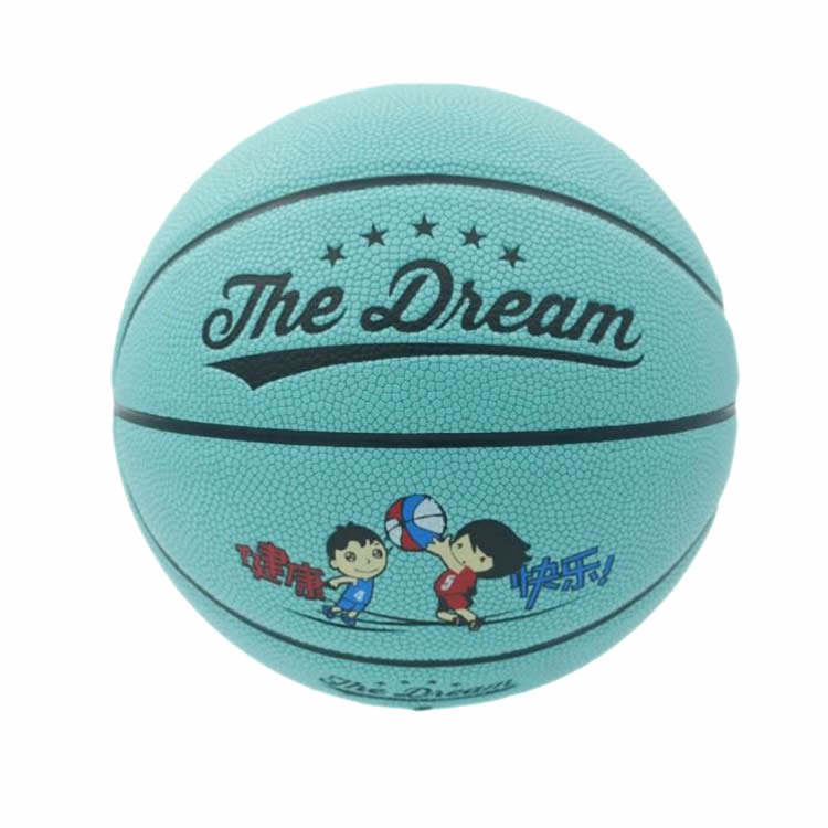 High Quality Custom Logo Size 4 Rubber Basketball