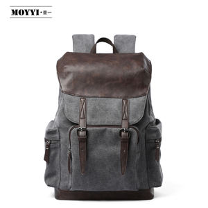 2020 New design fashion canvas backpack for teenagers girls man laptop backpack school bag