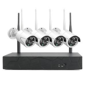 8CH Video Surveillance Kit Wireless CCTV System 1080p NVR WiFi AI IP CCTV Camera Security System NVR IP Camera
