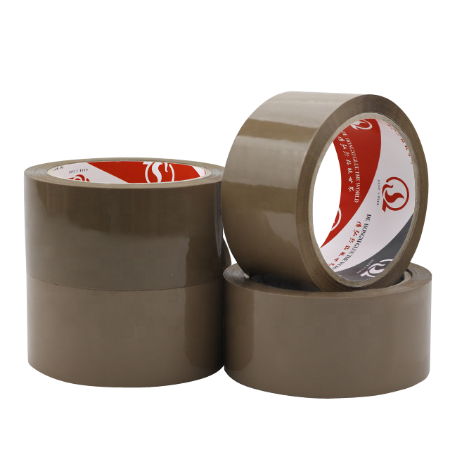 Water based Adhesive Power Buff BOPP Tape Parcel Package Brown Packing Tape