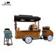 hot sale fast food tricycle/coffee vending cart/coffee bike for factory direct sale