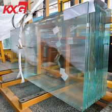 Export office hotel glass factory ultra clear tempered glass making machine 6mm 12mm toughened glass Closet Wardrobe