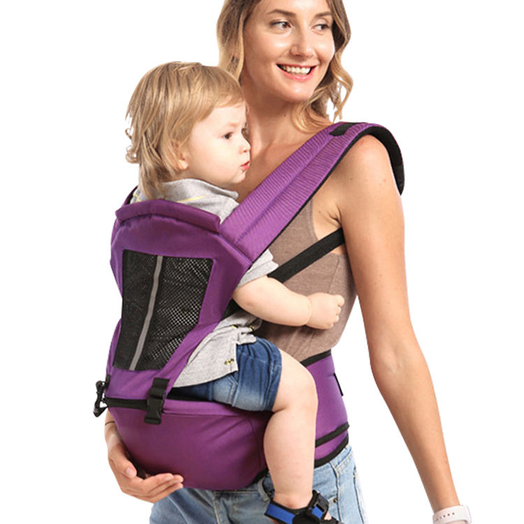 6 in 1 Soft Breathable baby carrier Baby Carrier Hip Seat baby wrap carrier