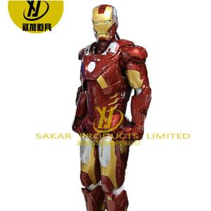 Cool hollywood iron costume mans real customized robot suit cosplay ironmans suit for sale adult