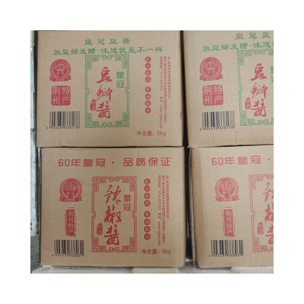 Chinese Flavor Doubanjiang Chilli Broad Bean Paste To Foods