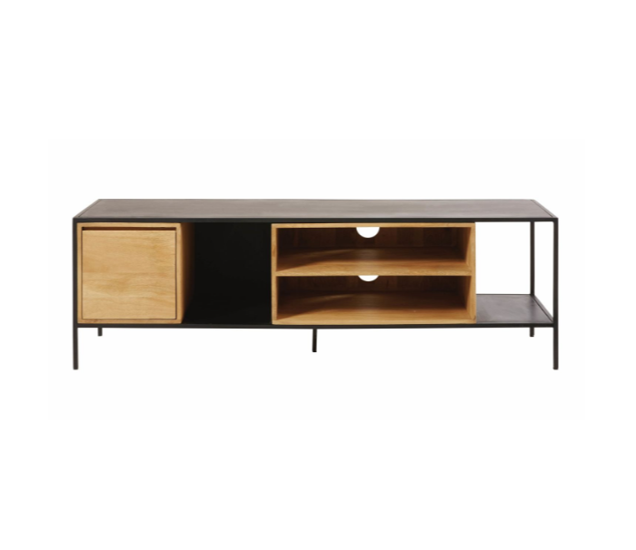 K/D Wooden And Metal With 1 Door And Open Drawers TV Stand/TV Cabinet For Living Room
