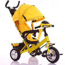 Kids tricycle 3 wheels for children /Children Bike Folding Kids Tricycle stroller with canopy/3 wheels baby bicycle