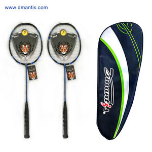 Half Carbon Badminton Racket Met Grote Racket Cover China Fabrikant
