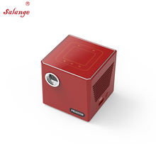 Salange C80 3D Cube DLP LED Projector 4K with Original Android 7.1 3000 mAh Battery HD In Pico Mini Bluetooth Projetor 3D