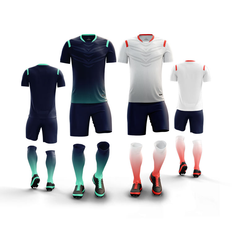 Youth soccer uniforms sets wholesale-sportswear top wear manufacturers