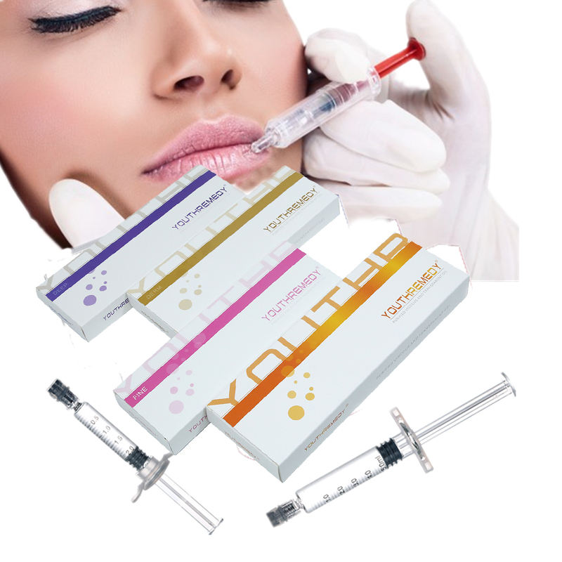 1ml CE approved Cross Linked Hyaluronic Acid gel dermal filler/ Hyaluronic acid inject for face and lips