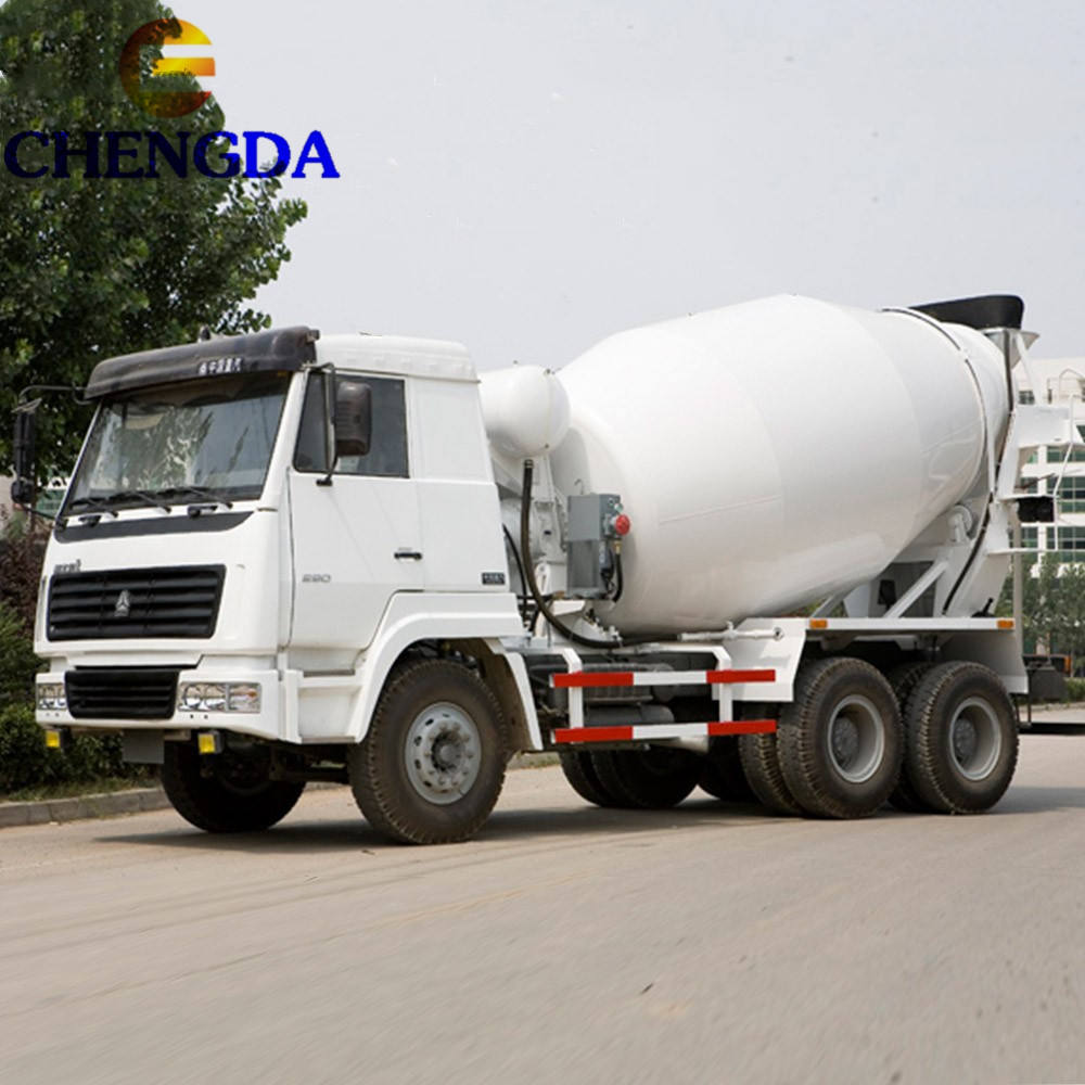 Used SINOTRUCK HOWO 10 Cubic Meter Cement concrete mixer truck For Sale