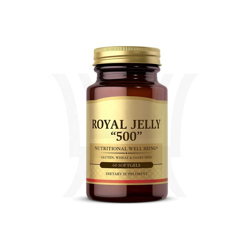Nutritional Well Being Private Label Royal Jelly Softgels Natural Source Of Vitamins Minerals Amino Acids And Proteins