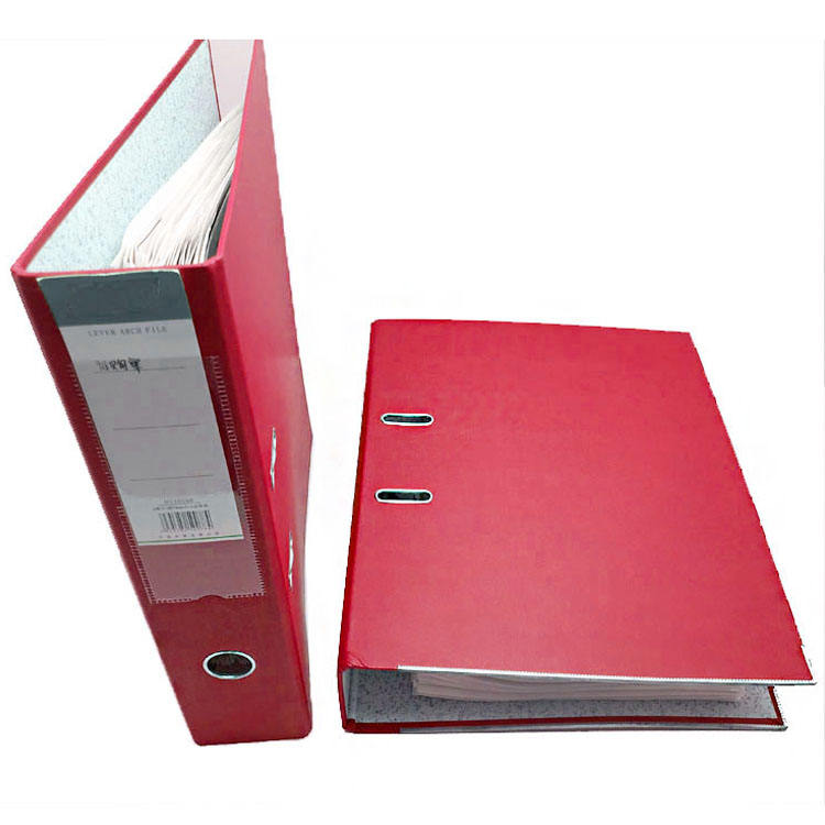 Amazon Hot Sale Waterproof Customized Logo Office Presentation Print File Hard Cover A4 Folder Metal Binder