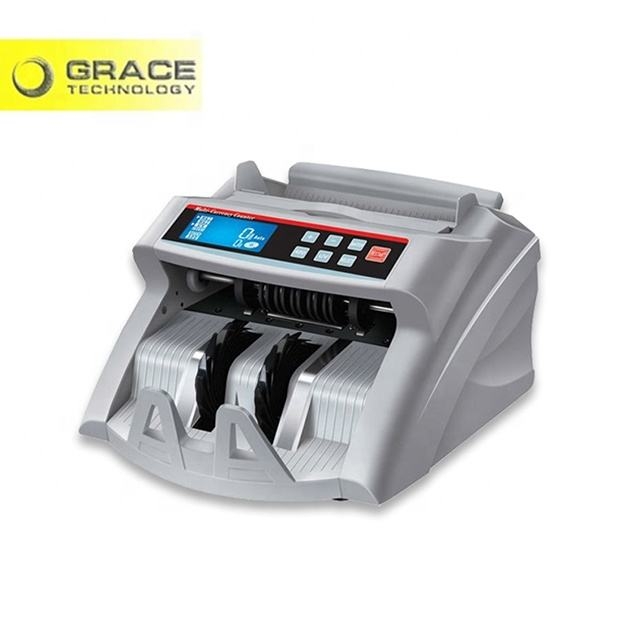 Lcd Cash Counter Machine LCD Counterfeit Note Bill Banknote Detector Counting