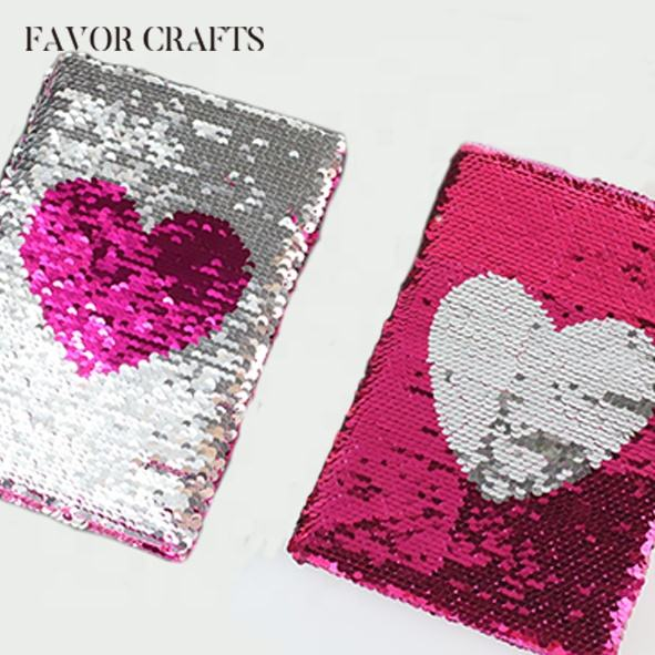 Fancy bling bling sequin notebook Diary
