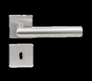8 Fenstergriff T/ürgriff Aluminium SILBER METALLIC 35 mm mit Schrauben