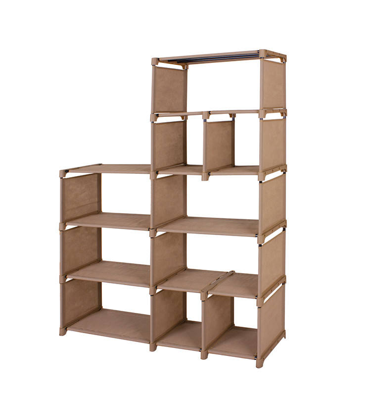 House Hold Items Storage Holder Portable Storage DIY Rack With Multi-function Shelf Storage Rack Organizer
