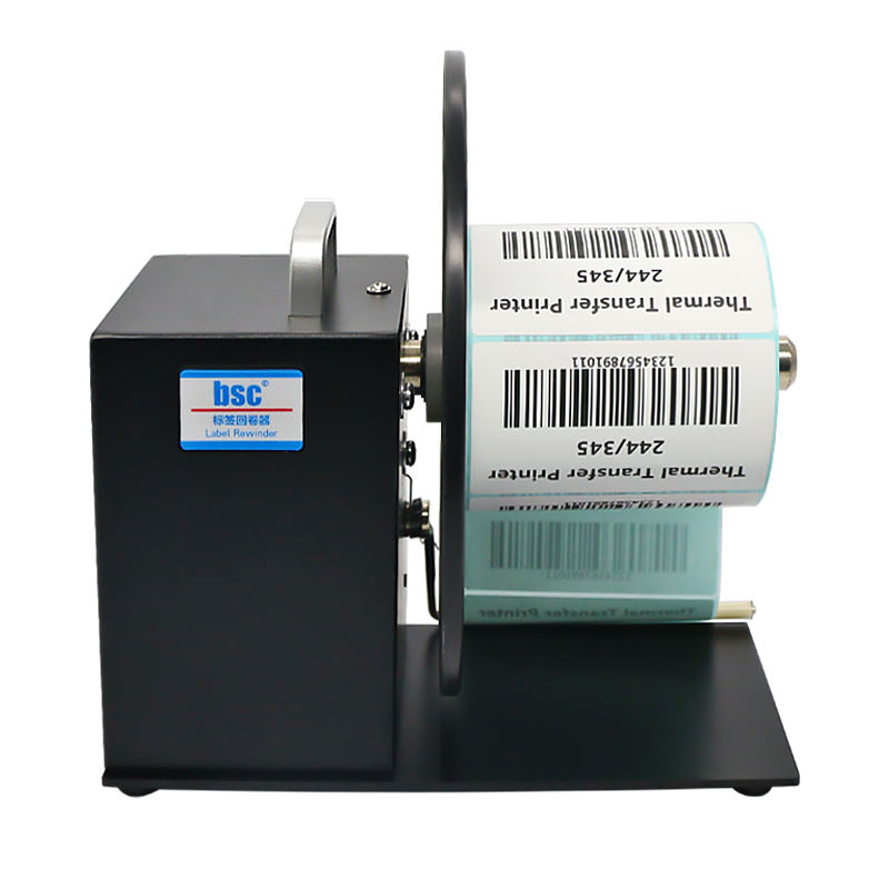 Manual High-quality Automatic label rewinder machine with counter Speed Controlled
