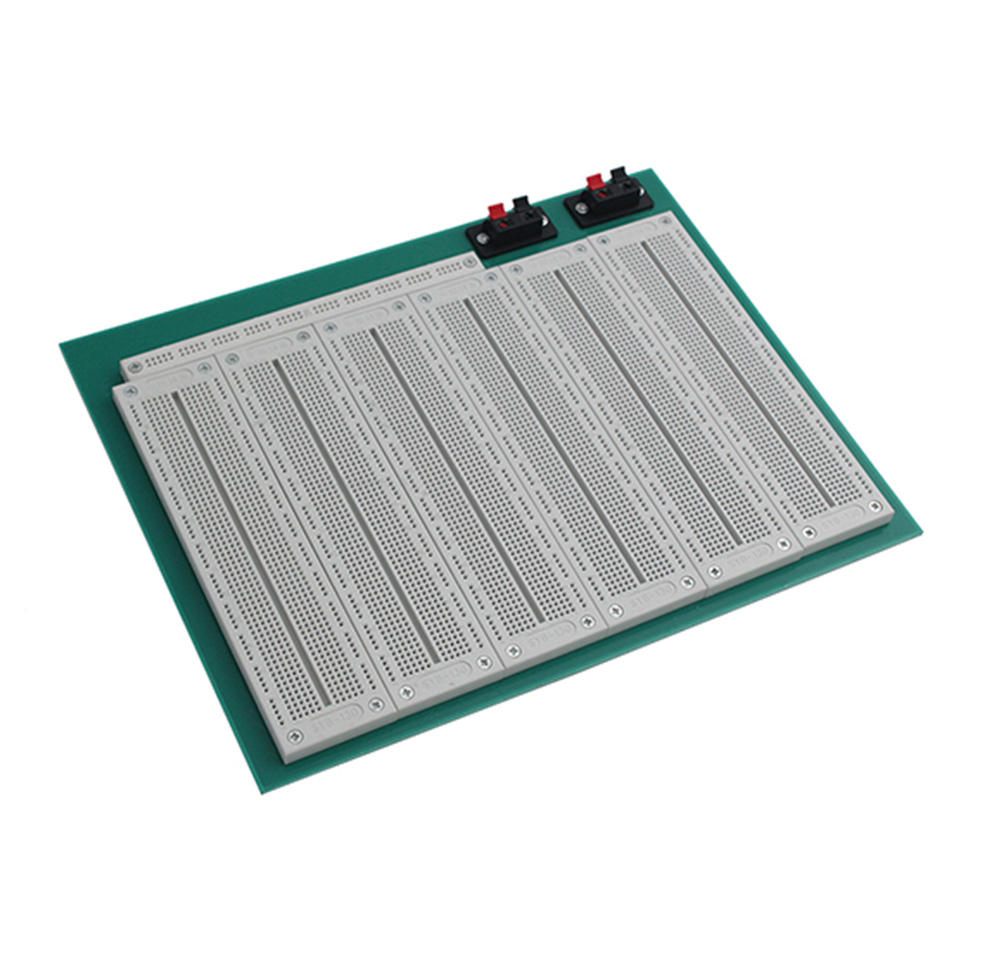 China Factory Price Breadboard 4660 tie-Point 2 switches Solderless PCB BreadBoard EB07LB-6S1P