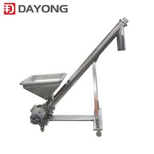 stainless steel conveying equipment screw conveyor for fodder additive