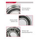 China supplier professional deep groove ball bearing 6203