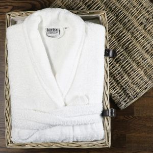 Terry tuch 100% baumwolle unisex bademantel hotel spa bademantel baumwolle terry hotel bad handtuch robe