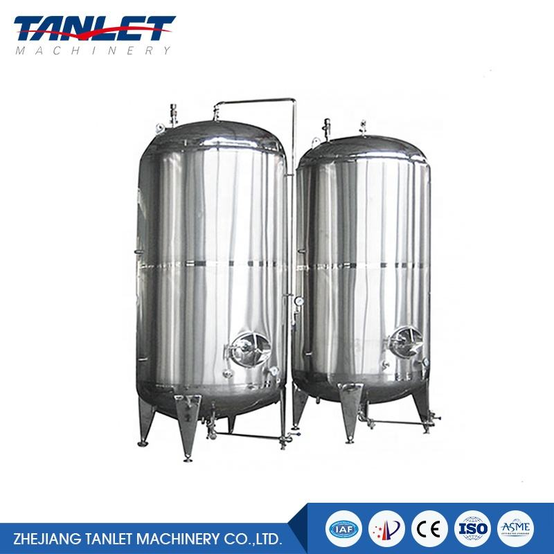 High Pressure Stainless Steel Liquid Chemical Industry Storage Tank