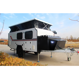 15 ft utv offroad semi 4x4 camp camping trailer atv off-road aluminum caravan travel off road camper trailer for sale