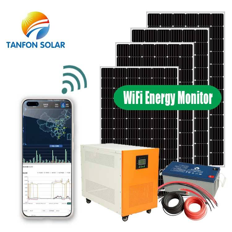 Tanfon 10KW solar panel on grid