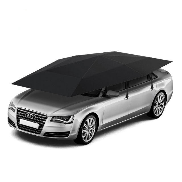 4.2m 4.8m car roof shade cover automatic car umbrellas with remote control Nylon Car shelter Windshield Snow Shade