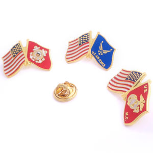 Synthetische Emaille Cartoon China Custom Farbe Emaille Pin Günstige Flagge Pins