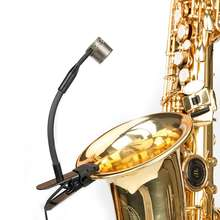KIMAFUN CX309-1 professional wind instrument Saxophone Microphone with clip