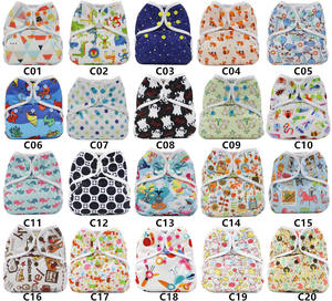 Factory Price OEM/ODM 3 Layer Microfiber Reusable Washable Baby Diapers Supplier Waterproof Nappies Soft Breathable