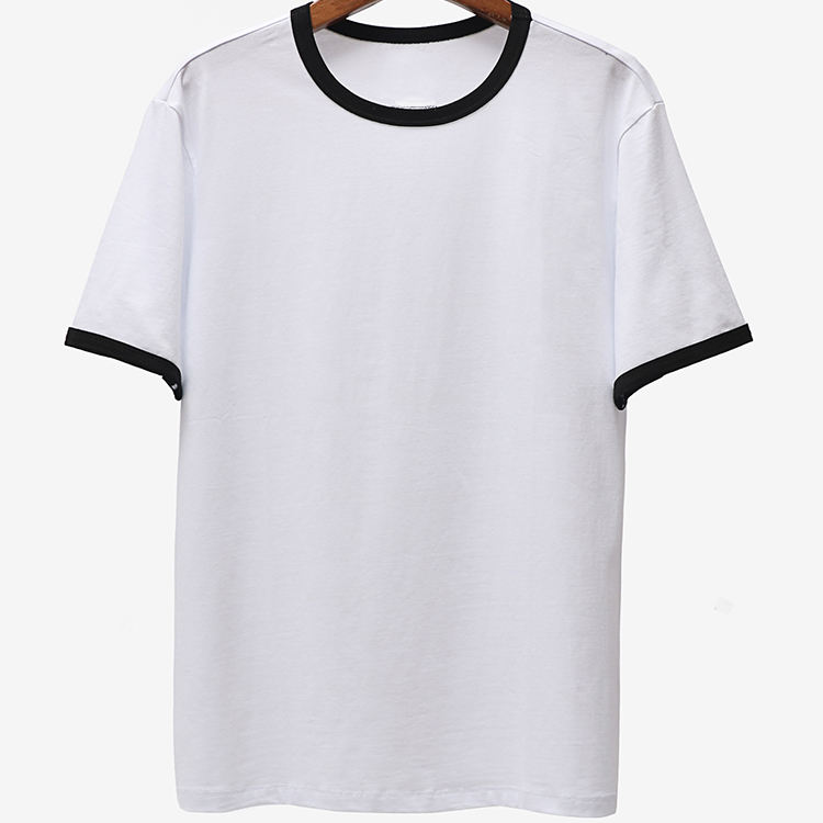 Streetwear Manufacturer Premium Blank Plain White Custom Logo Cotton Short Sleeve Sublimation printing T-shirt Mens T Shirt