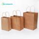 Kraft Paper Bags Take Away Food Package
