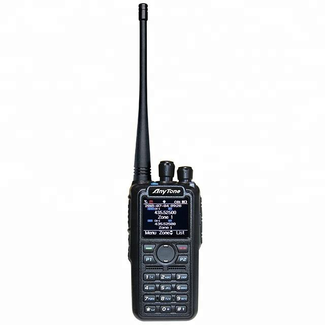 Anytone AT-D878S Single band DMR handheld 두 way radio 와 GPS <span class=keywords><strong>디지털</strong></span> 무 토키