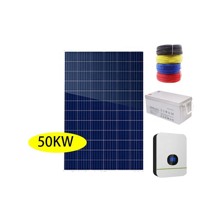 <span class=keywords><strong>Commerciale</strong></span> o industriale <span class=keywords><strong>50KW</strong></span> off grid energia solare sistema di energia solare