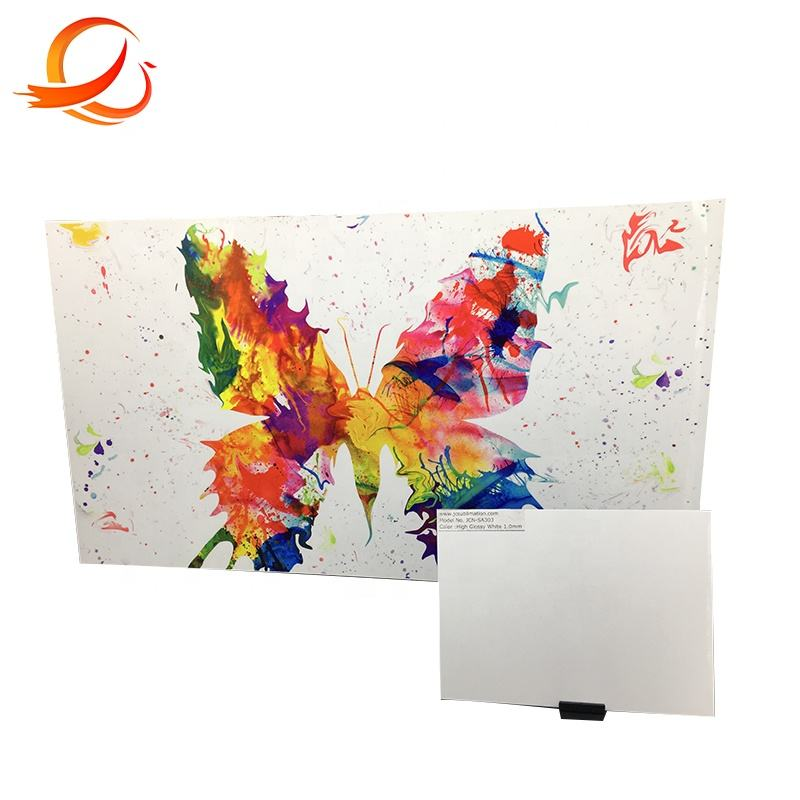 Metal gift HD photo panels dye sublimation chromaluxe aluminum sheet