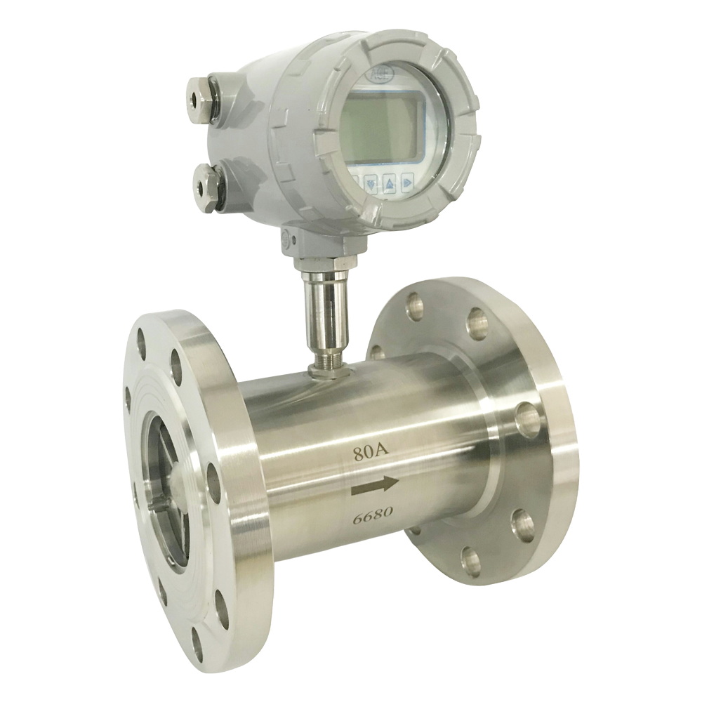 LWY Model Screwed and Flanged Turbine Water Flow Meter