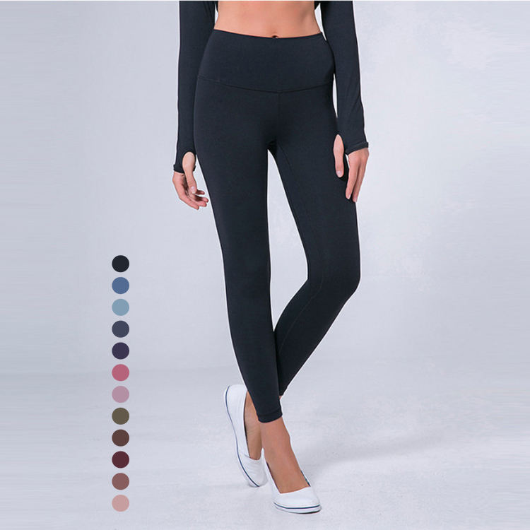 Compression Tights Cargo Sweat Joggers Fitness Gym Active Leggings High Waist Workout Nylon Yoga Pants For Women